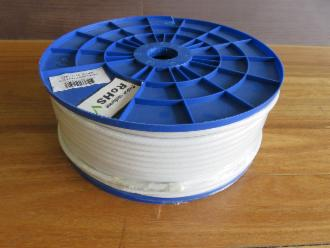 Photo of 100 M ROLL WHITE RG 6 COAX CABLE