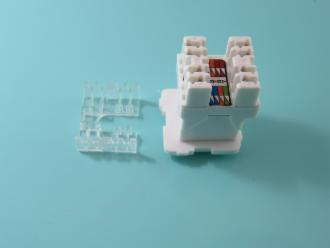 Photo of RJ 45 CAT 6 A + CAP