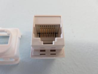 Photo of CAT 5e PLUG INSERT