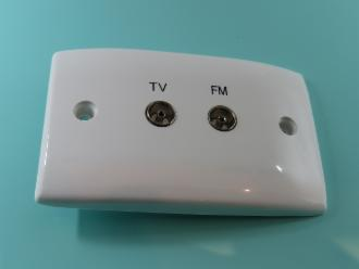 Photo of TV - FM WALL PLATE