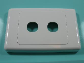 Photo of 2 HOLE CLIPSL PLATE