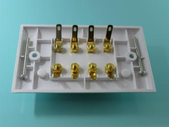 Photo of 8 WAY SPEAKER POST PLATE