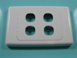 Photo of 4 HOLE CLIPSL PLATE