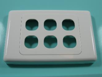 Photo of 6 HOLE CLIPSL PLATE