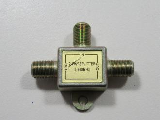 Photo of 2 WAY F P/PASS 1 LEG SPLITTER
