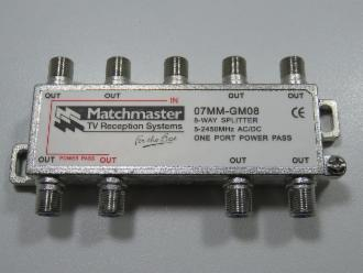 Photo of 8 WAY MATCHMASTER F SPLITTER