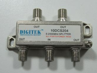 Photo of 4 WAY SAT ALL PORTS PASS SPLITTER