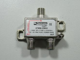 Photo of 2 WAY MATCHMASTER F SPLITTER