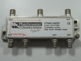 Photo of 6 WAY MATCHMASTER F SPLITTER