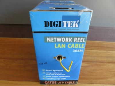 Photo of CAT 5e 305M BOX YELLOW